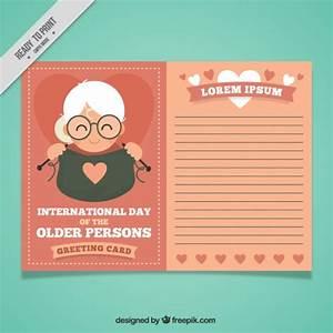 Modele Carte De Voeux : jour une personne g e mod le de carte de voeux ~ Melissatoandfro.com Idées de Décoration