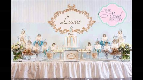 baptism themes decorations at home ideas