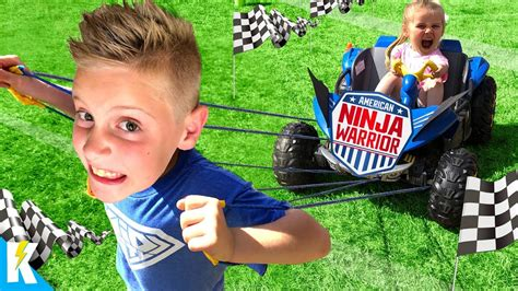 kidcity challenge obby ninja warrior course run american obstacle outdoor