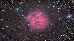 Pink Nebula Background - Pics about space