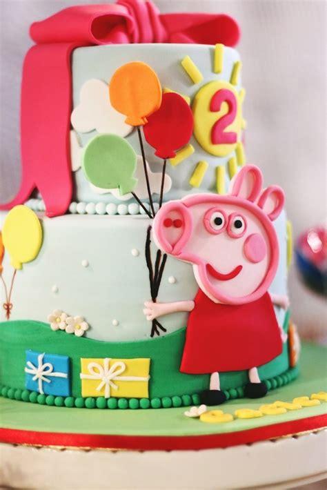 peppa pig 2nd birthday
