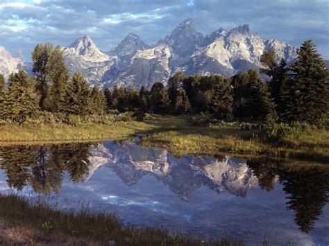 Mountain Scene Wallpaper-wallpapersafari