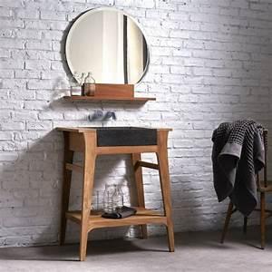Runder Spiegel Holz : die qual der wahl waschtisch selber bauen oder kaufen ~ Indierocktalk.com Haus und Dekorationen
