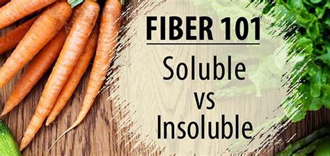 fiber  soluble fiber  insoluble fiber