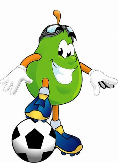 Healthy Clip Clipart Football Animated Lifestyle Funny