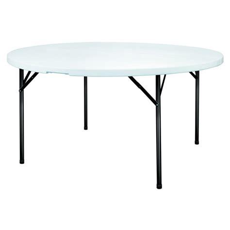 table pliante de collectivite table polypro ronde pour collectivit 233 s table ronde en plastique dmc direct