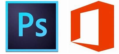Photoshop Office Icon Mac Logos Works Microsoft