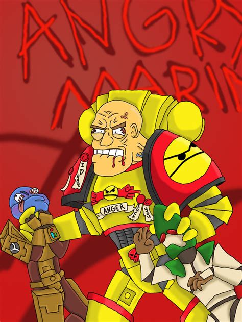 Angry Marines Meme - angry marine by spacepanzer on deviantart