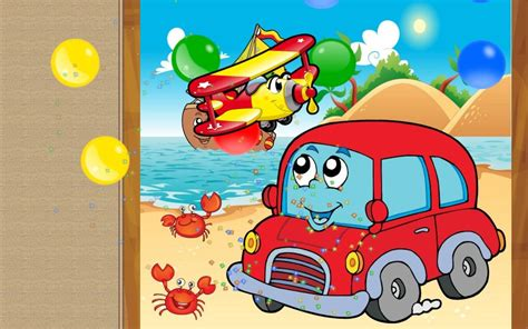 kid play car cars for kids puzzle games android apps on google play