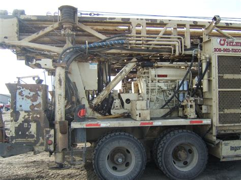 ingersoll rand drill rig t4w 1999 for sale used