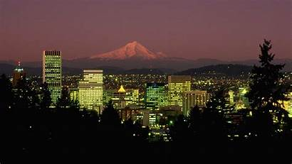 Portland Oregon Desktop Wallpapers Night Backgrounds Maine