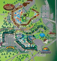 Wilderness Resort Map Wilderness Resort Map | Color 2018