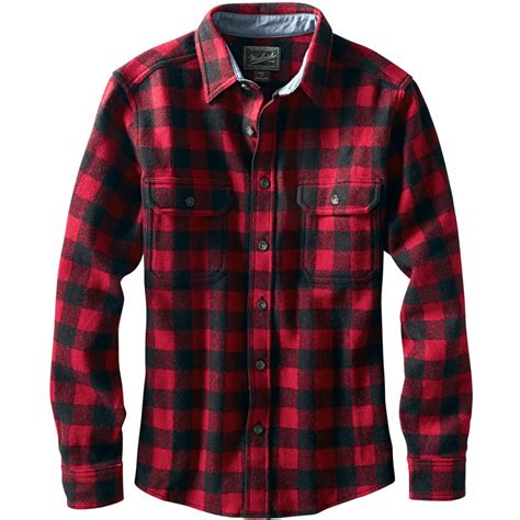 Woolrich Wool Buffalo Flannel Shirt - Men's | Backcountry.com