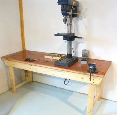 diy workbench    build   weekend bob vila