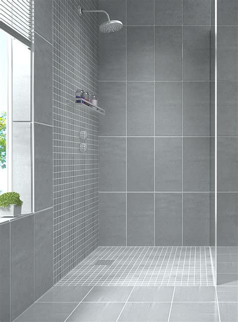 Badezimmer Fliesen Duschbereich unterschiedliche fliesen f 252 r duschbereich design