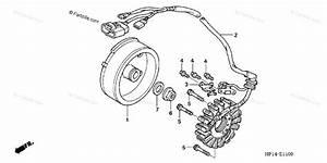 Honda Atv 2004 Oem Parts Diagram For Alternator   U0026 39 04  U0026 39 05