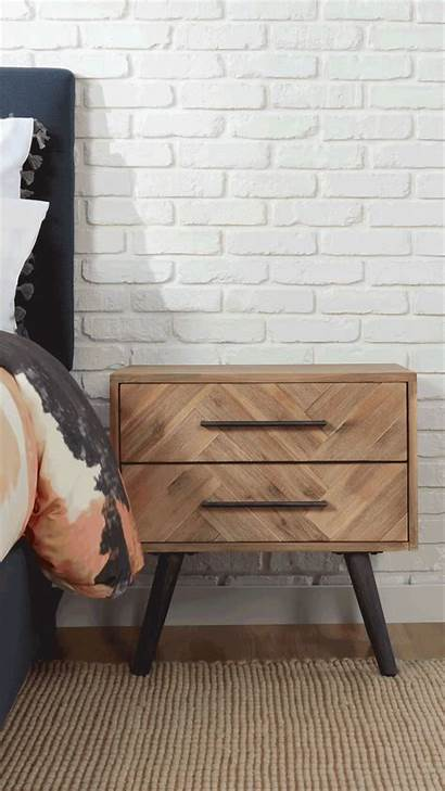 Nightstand Eclectic Styles Decorate Decor Overstock