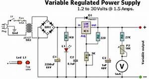 electronics circuits variable regulated powersupply12 With bench variable power supply 0v 100v 2a