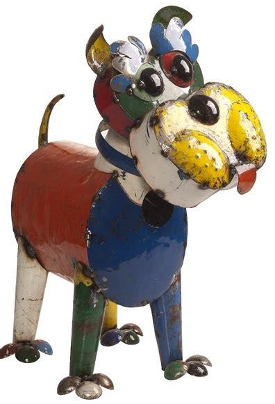 eeieeio metal animal ralph dog garden art sculpture