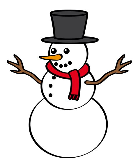 Clipart Snowman Snowman Clipart January Pencil And In Color Snowman