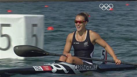 zealands lisa carrington wins canoe sprint kayak