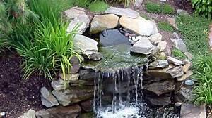 Fabriquer Une Fontaine Sans Pompe : construire un petit bassin de jardin avec cascade bassin de jardin ~ Melissatoandfro.com Idées de Décoration