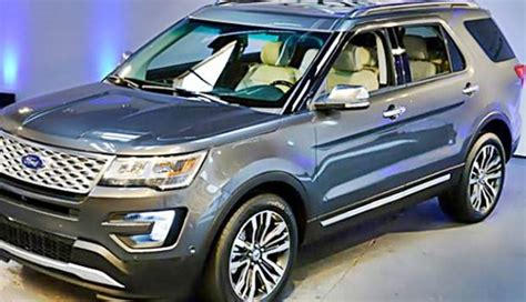 ford explorer redesign fords redesign