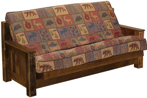 Western Futon by Barnwood Futon And Futon Cover