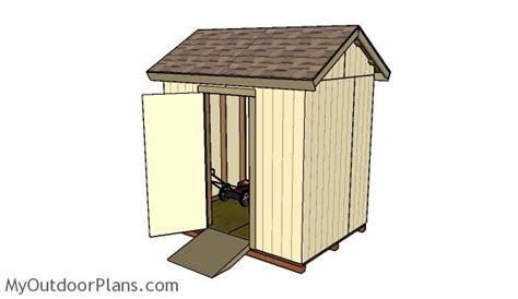 free 6x8 shed plans myoutdoorplans free woodworking