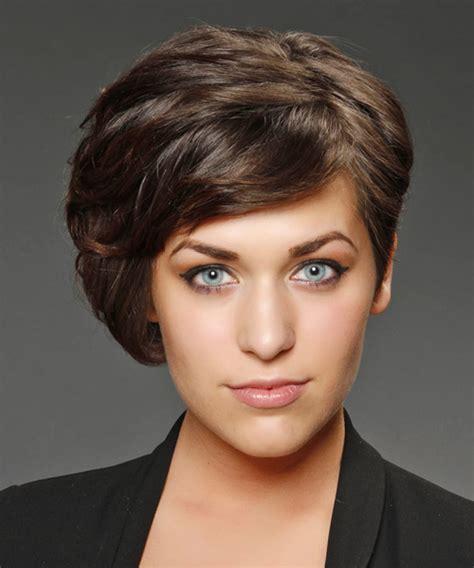 asymmetrical haircuts hair formal asymmetrical hairstyle chocolate 5363