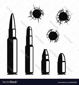 Bullet Holes Vector Image On  With Images
