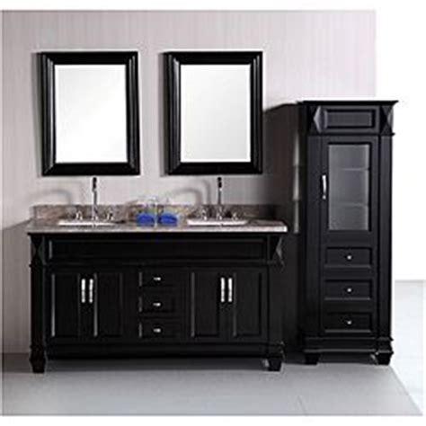design element hudson 60 inch double sink bathroom vanity