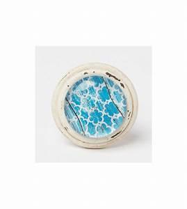 Bouton De Meuble : bouton de meuble essaouira cabochon bleu boutons ~ Teatrodelosmanantiales.com Idées de Décoration