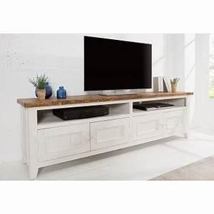 Meuble Tv Arrondi : meuble tv design blanc en bois massif naturel portes toini cm with meuble tv arrondi bois ~ Teatrodelosmanantiales.com Idées de Décoration