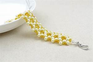 Comment Faire Un Bracelet En Perle : des designs de bijou gratuits comment faire des bracelets de perle en un mod le fondamental ~ Melissatoandfro.com Idées de Décoration