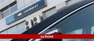 Concessionnaire Chevrolet : chevrolet va verser 8 millions d 39 euros des concessionnaires fran ais le point ~ Gottalentnigeria.com Avis de Voitures