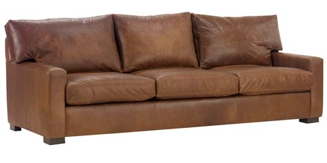 Maxwell Sleeper Sofa by Oversized Contemporary Leather Furniture With Track Arms