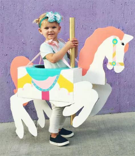carousel horse kids costume allfreekidscraftscom