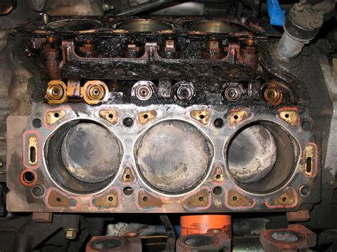 blown head gasket taurus car club  america ford
