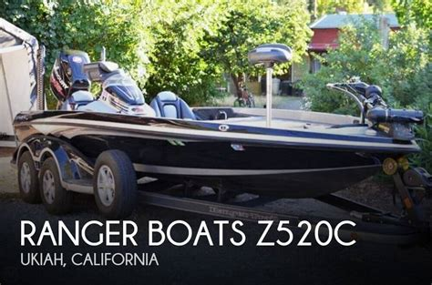 Bass Fishing Boats For Sale In California by Ranger Boats Z520c For Sale In Ukiah Ca For 60 600 Pop