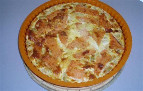 quiche sans p 226 te au saumon et poireaux recette dukan pl par cla34 recettes et forum dukan