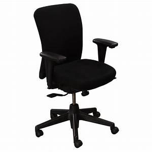 Haworth LOOK Used Task Chair Black National Office