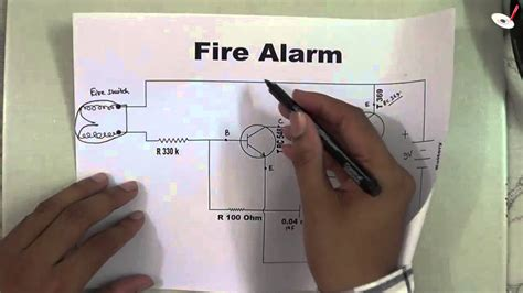 fire alarm electronic circuit works  raj