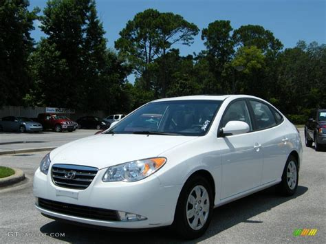 2007 captiva white hyundai elantra gls sedan 545455 photo