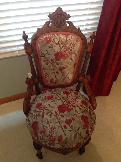 guest bedroom antique chair upholstery abda window fashions