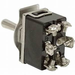 1 Piece Heavy Duty Toggle Switch Dpdt Center Off 20 Amp Ec