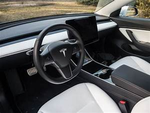 interior: Tesla Model X Black White Interior