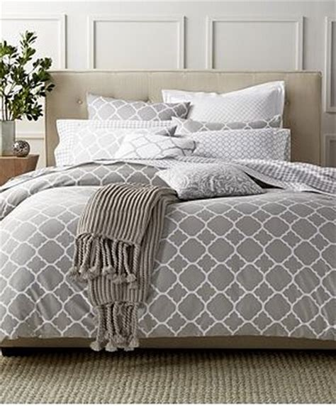 Macys Bedding by Macys Charter Club Damask Designs Geometric Dove