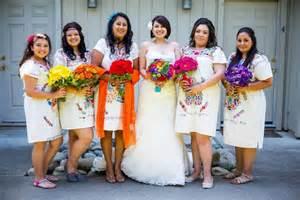 mexican wedding cinco de mayo wedding ruffled