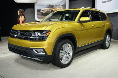 Volkswagen Atlas : 2018 Volkswagen Atlas (vw) Review, Ratings, Specs, Prices